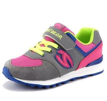 HOBIBEAR kids comfortable footwear sport leather shoes
