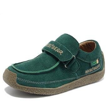 HOBIBEAR hot sale best leather dress casual shoes for boys