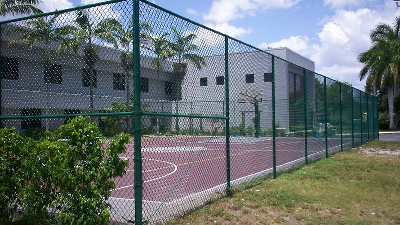 Tennis court chain link fence exportimes