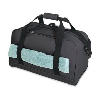 Sports duffle custom wholesale gym bag with shoe compartment