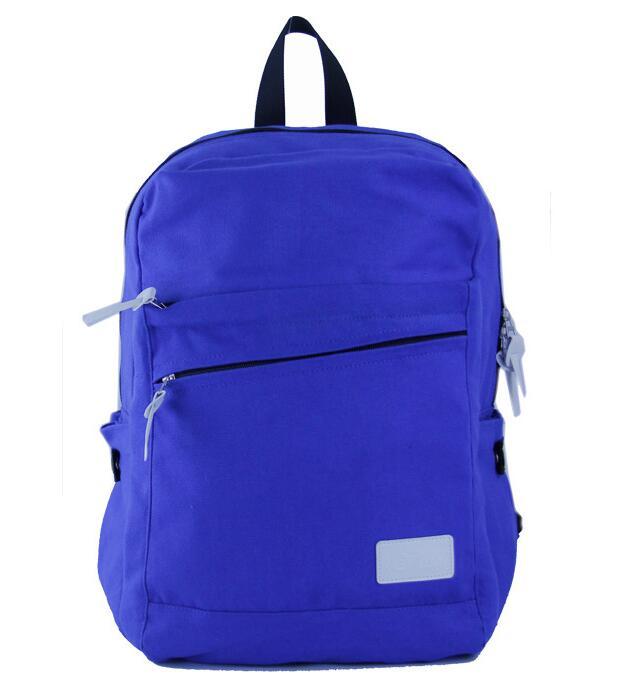 2017 trending canvas school backpack