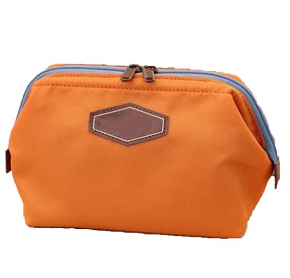 Waxed cotton duffle bag wholesale canvas travel cosmetic bag