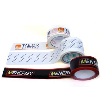 manufacturer for custom logo printing bopp tape