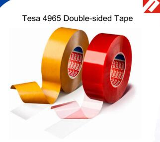 Tesa 4965 Double-sided PET Tape Polyester tape for PCB fixing ,LCD Frame ,nameplate