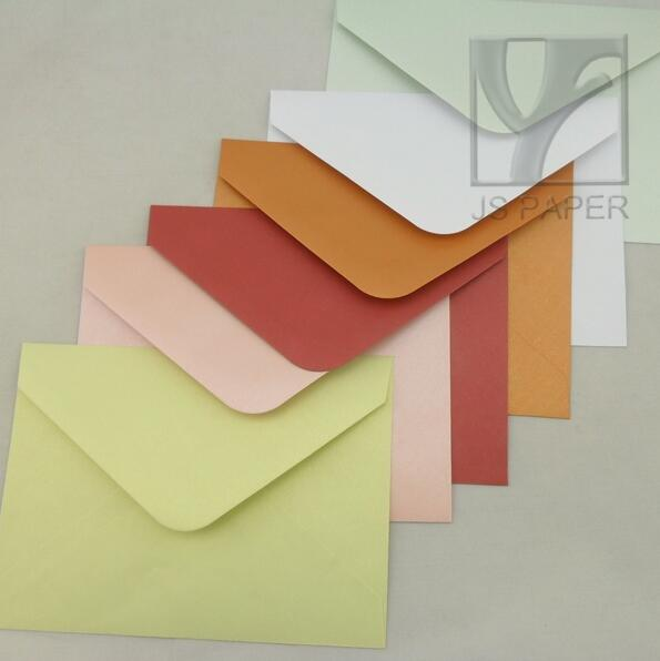 color paper envelopes