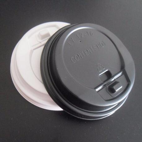 Disposable cup plastic lid
