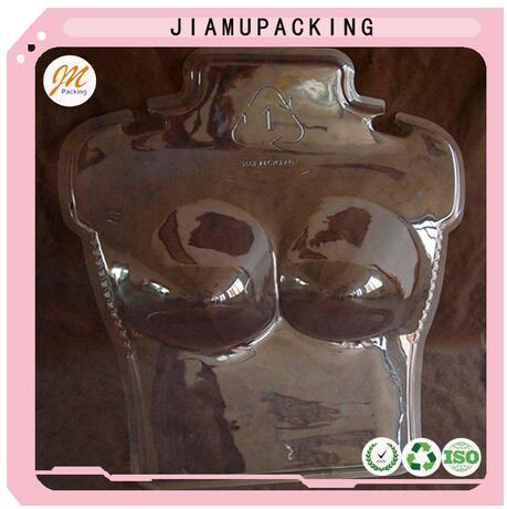 cheap price clear plastic upper body bra mannequin