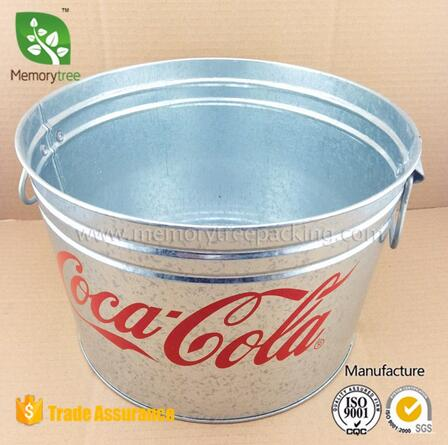 Factory metalic ice bucket beer ice bucket china