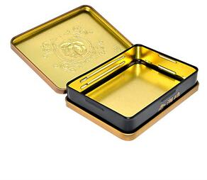 china hinged tin custom metal case for chocolate