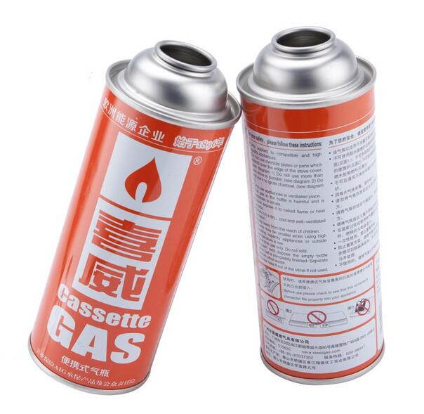 dia 65 necked-in/straigth wall/ aerosol tin can for cylinder can