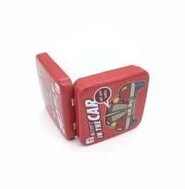 Custom condom tin box