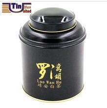 White coating tea tin packaging,tin box packaging for tea