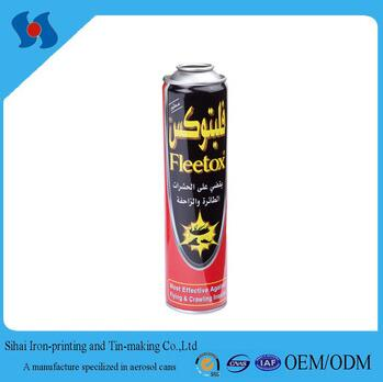 Dia. 52mm Refillable Aerosol Can for Insect Killer