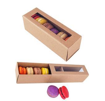 Fashionable hot selling Take away/take out packaging food paper box natural brown kraft box