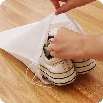 Promotional Customized cotton canvas Drawstring ballet bag ballet shoes bag wholesale