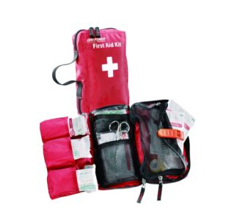 Outdoors portable car emergency first aid kit bag 18pcs