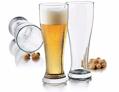 High quality custom logo printing beer glass