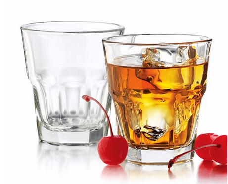 207ml eco-friendly transparent smooth shot glass