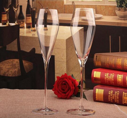 2016 best selling wedding fancy champagne wine glass