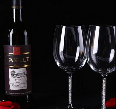Factory Hand Made Elegant Goblet  Wine Glass Wholesale