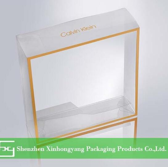 Clear plastic box for Gift Toy ,foldable small clear plastic box for baby shoes/toys