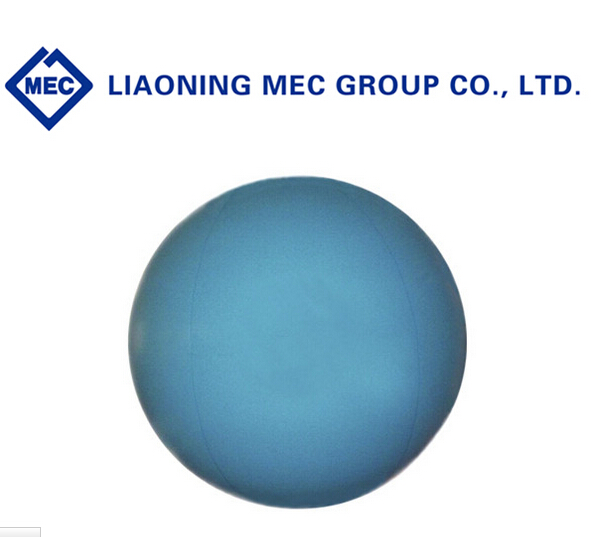 light blue PVC inflatable flying helium balloons for advertising