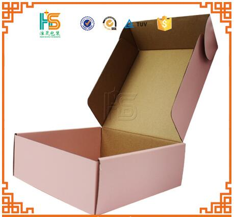 Corrugated Cardboard Roll End Tuck Top Recyclable Paper Packaging Box