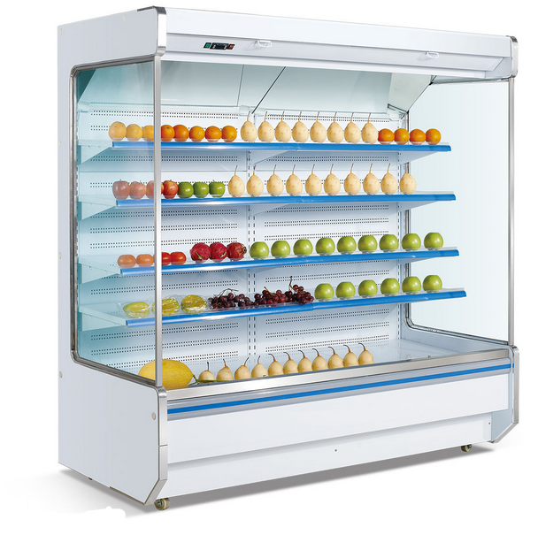 Good Quality Open Refrigerator Display Showcase