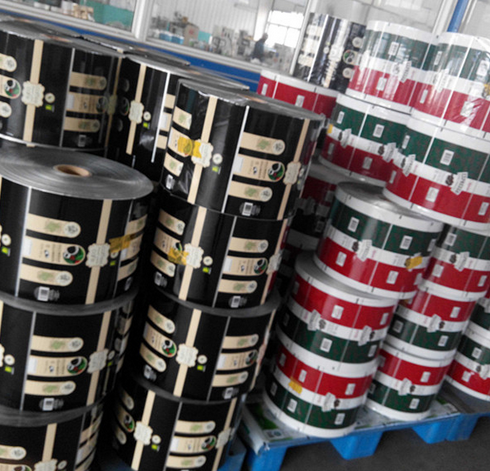 Plastic Packaging Film Food Grade Customer Gravure Printing