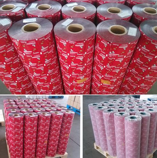 OEM Food Grade Plastic Film Roll/Food Packaging Plastic Film Roll