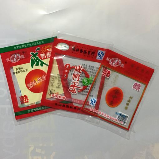 Food Grade Plastic Retort Packaging Bag for Egg