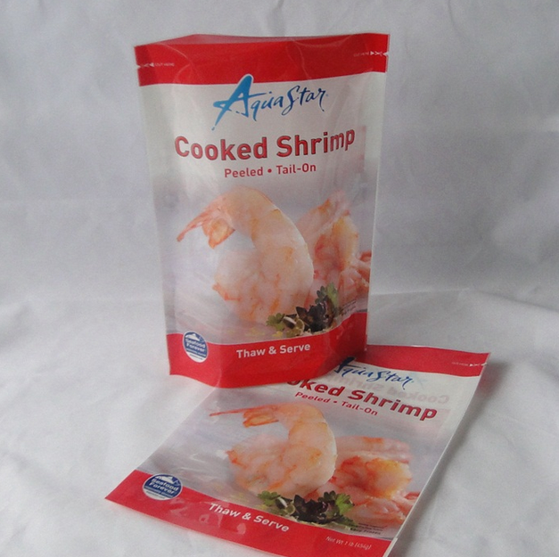 High Quality Printing Zipper Top Standing Food Packing Bag
