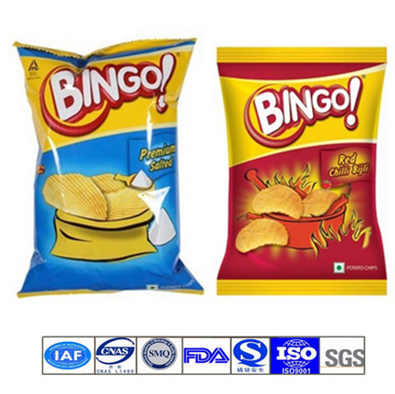 Potato Chips Food Packaging Bag with Custom Printing