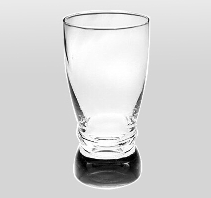 12 oz New Design Hot Sale Straight Beer Glass