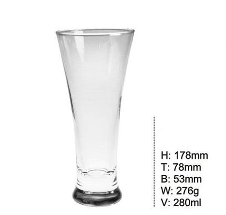 280ml Durable Hot Sale Cheap Drinking Glass