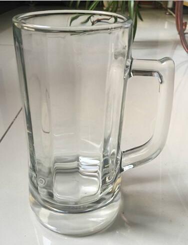 Large Capacity Tumbler Transparent Beer Glass Cup