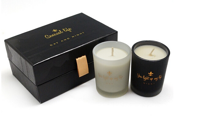 High-end soy wax scented candles