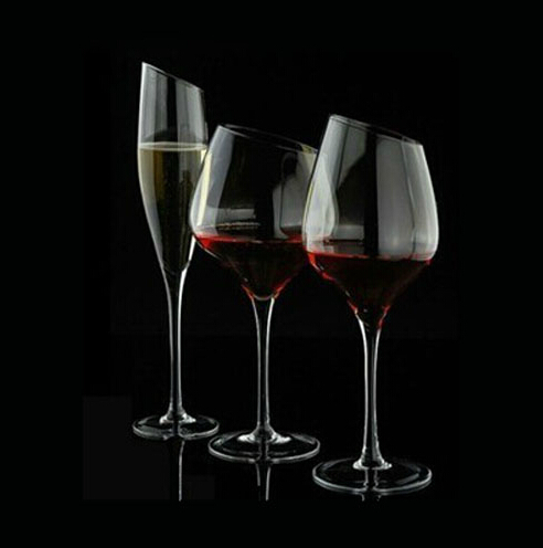 Lead Free Customized Crystal Wine Glass