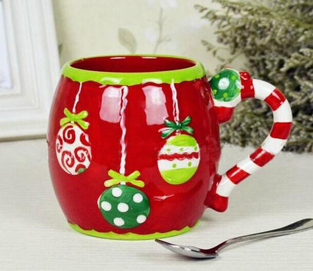 Boot Shape Christmas Ceramic Mug