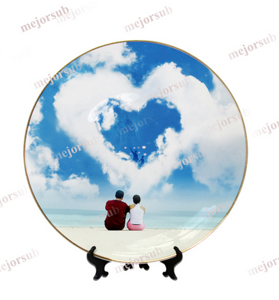 Custom Photo Printing Sublimation Ceramic Plates