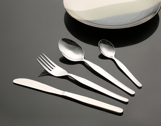 Simplicity hot saile stainless steel 4pcs cutlery