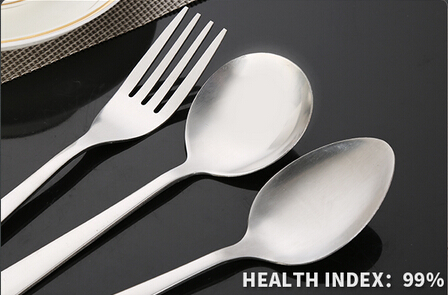 New product stocked stainless steel cutlery wholesale