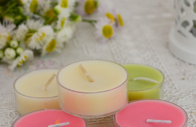 Promotion paraffin wax tealight candle