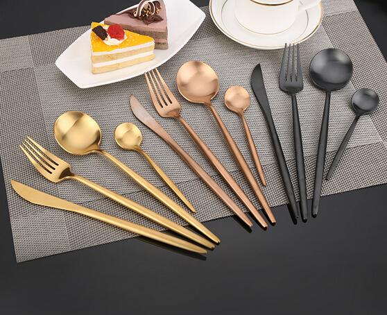 High quality titanium flatware cutlery wholesale