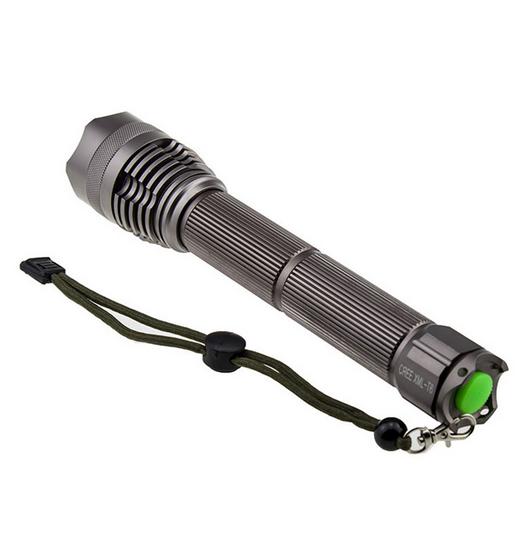 Wholesale Aluminum Alloy Strong Light Flashlight