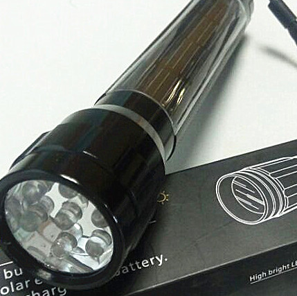 High Quality Solar LED Flashlight