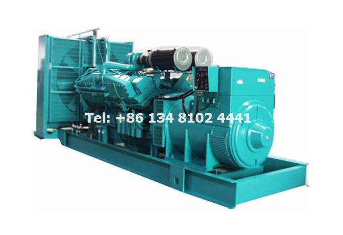 Low Power Cummins Diesel Power Generator 103KVA Genset - Open Type