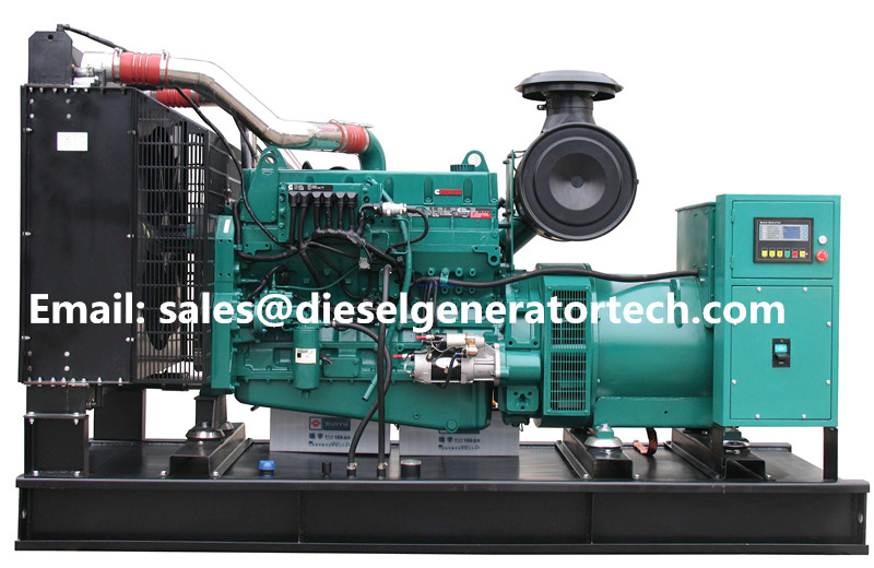 300KW 375KVA Diesel Generator Power Generator Cummins Engine