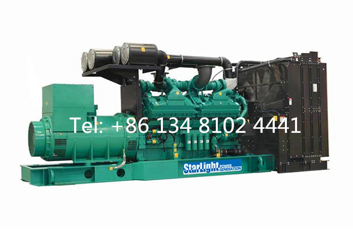 Water-cooled Cummins Diesel Generator/Power Generator/Genset 350KW