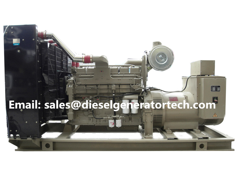 Hot Item Cummins Diesel Generator Power Unit 550KW Open Type